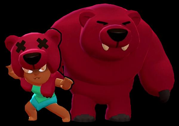 Нита с медведем