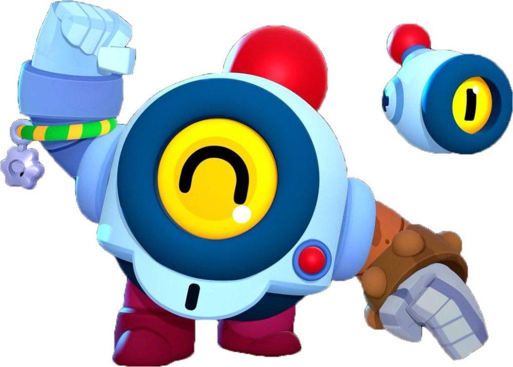 Нани новый робот Браво Старс
